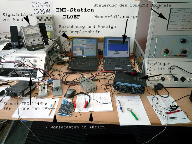 Stationstisch EME DL0EF